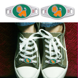 Zoo Custom Engraved Medical ID Tags or Kid ID Tags for Shoes or Paracord Bands - Style