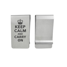 Classic Personalized Money Clips - Style