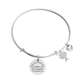 Family Tree Bracelet Pre-Engraved Bracelet Gifts for Mom