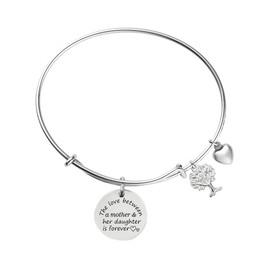 Family Tree Bracelet Pre-Engraved Bracelet Gifts for Mom