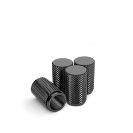 Precision CNC Machined Stainless Steel  Car Tire Air Valve Caps, Wheel Tyre Stem Covers - Style