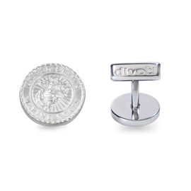Marine Badge 316L Stainless Steel CuffLinks