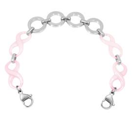 Steel Interchangeable Medical Alert Replacement Bracelet for Women