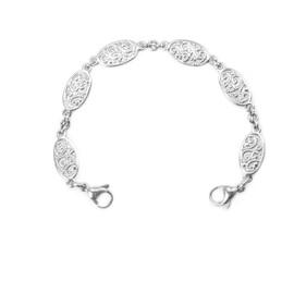 Divoti Filigree Link Stainless Steel Interchangeable Medical Alert Replacement Bracelet for Women