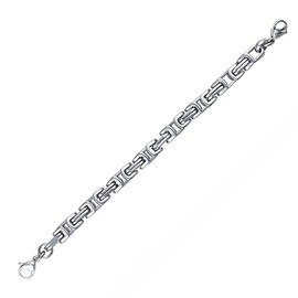 Cubic Byzantine Chain for Interchangeable Medical Alert ID Bracelet - Size