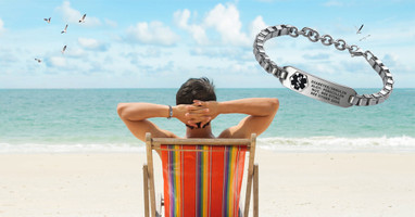 Medical Alert Jewelry and Accessories Distinctly masculine, stylish,and sporty all at once