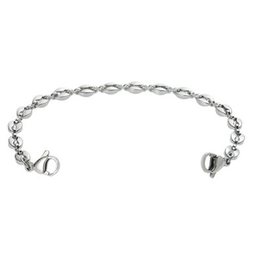 Anchor Link Chain for Interchangeable Medical Alert ID Bracelet - Size