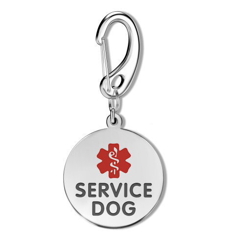 1/1.25-Inch Double Sided ESA Dog Tags (Emotional Support Animal) - Style
