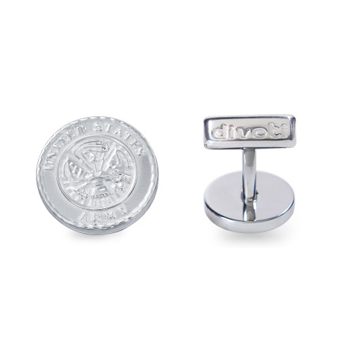 Army Badge 316L Stainless Steel Army CuffLinks