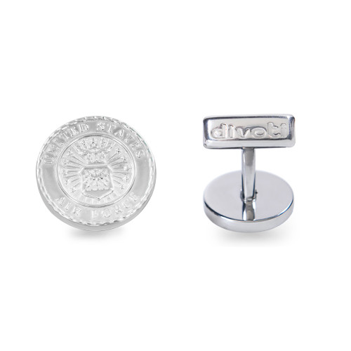 Air Force Badge 316L Stainless Steel CuffLinks