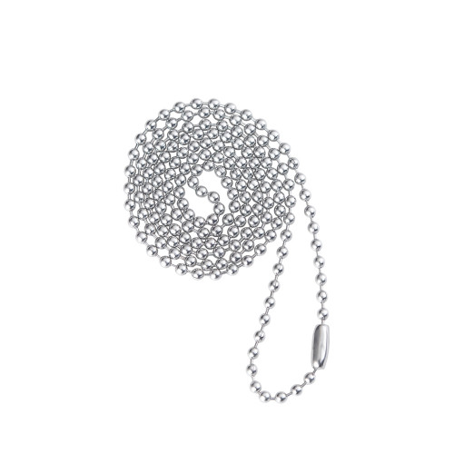 2.4mm Necklace Chain for Medical Alert ID Neclaces, Size