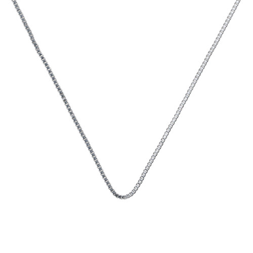 1.5mm Venetian Necklace Chain for Medical Alert ID Neclaces, Size