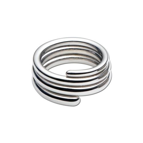Divoti Swirl 316L Stainless Steel Ring