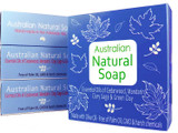 Australian Natural Soap 120g - Blue Box