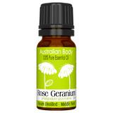 Rose Geranium - 100% Pure Essential Oil (10ml)