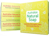 Australian Natural Soap 120g - Yellow Box