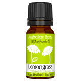 Lemongrass - 100% Pure Essential Oil (10ml)