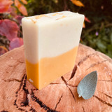 Soft & nurturing, with gentle scents of Roman Chamomile, Jasmine, Orange and Geranium. We infused calendula petals into sweet almond oil and added lavender hydrosol to further enhance soothing properties. Steamed carrot & pumpkin fortify a vitamin boost with Shea butter providing luxurious bubbles and rich fatty acids. Your skin will love you for it.