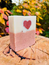 This silky bar is filled with premium ingredients including Rosehip and Evening Primrose oils, exotic Babassu Butter and an immersion of extracts in precious Rose Hydrosol. We've blended sensual essential oils of Petitgrain, Peru Balsam, Rose, Ylang Ylang & Orange to create an atmosphere to soothe your mind & body. Hand crafted with passion.