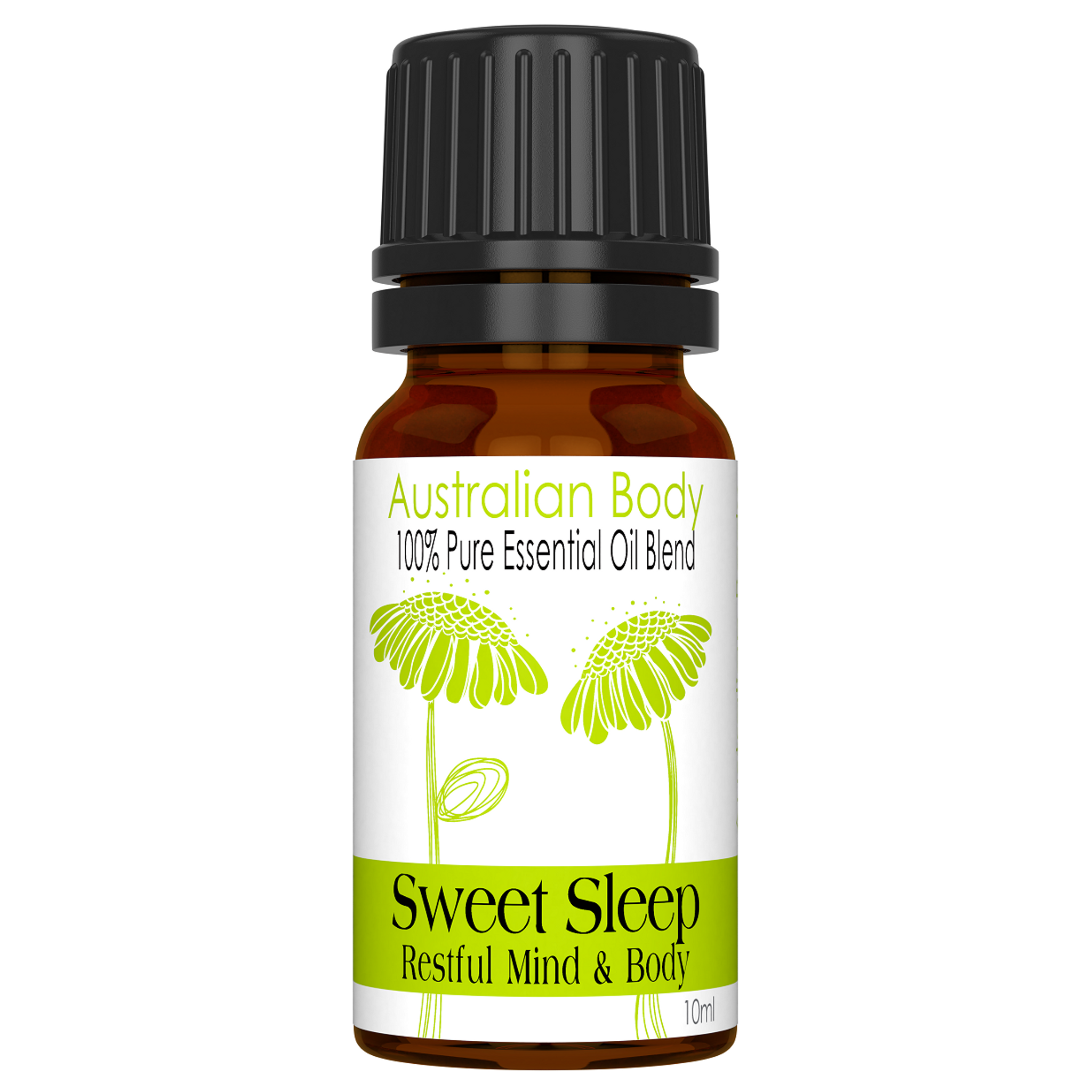 Sweet Sleep 100 Pure Essential Oil Blend 10ml Australian Body