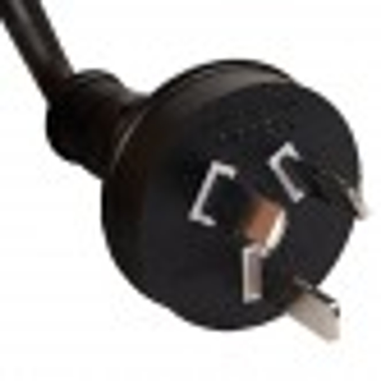 Monitor Power Cable to IEC C13 female socket 1.8m Black
