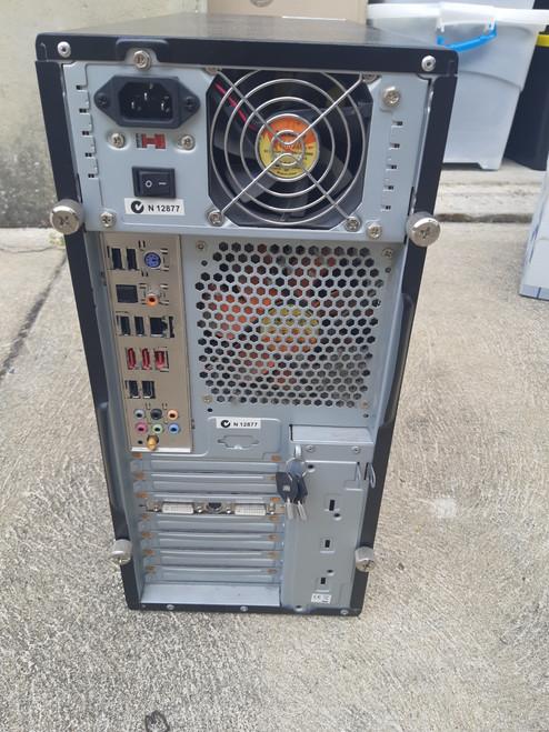 White box Computer intel quad 4GB 320 GB