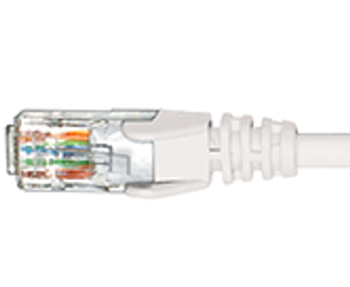 Hypertec CAT6 1m ethernet cable - WHITE - NEW (HCAT6WH1)