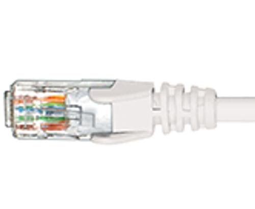 Hypertec CAT6 1m ethernet cable - WHITE - NEW (HCAT6WH1)
