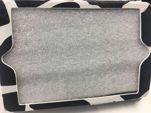 iPad mini case Faux Leather Cow Print