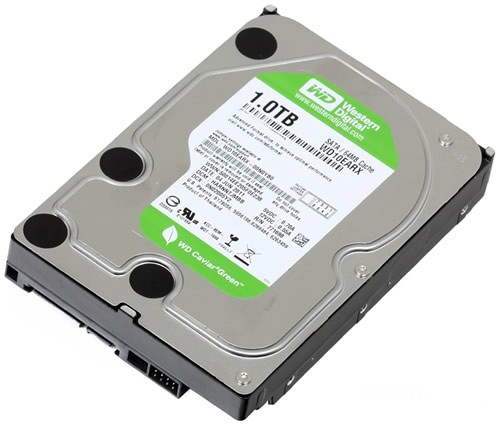 "1TB Used HDD | Western Digital 3.5"" SATA Hard Drive (WD10EARX)"