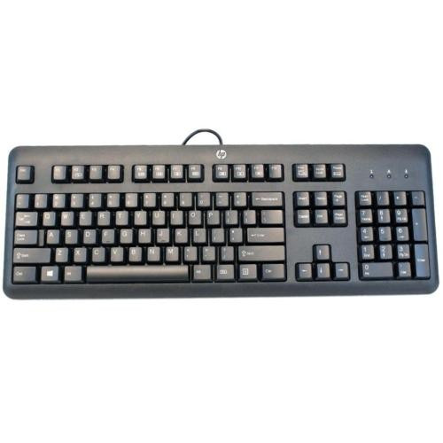 HP Black USB Keyboard P/N 672647-003 (KU-1156)