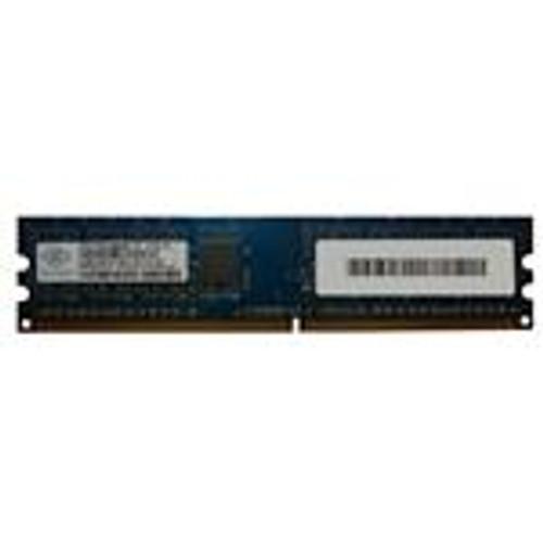 Nanya 512MB PC2-5300 DDR2-667MHz Desktop Memory Module (NT512T64U88B0BY-3C)
