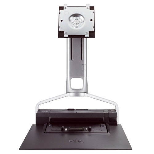 DELL E-SERIES RM361 MONITOR STAND 0CY640 PR02X AND E-PORT LAPTOP DOCKING STATION