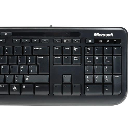 Microsoft Wired Keyboard 600 (BLACK) (X818767-001)