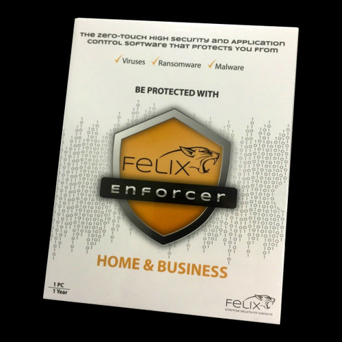 Felix Enforcer Antivirus 12 Months Subscription Home & Business