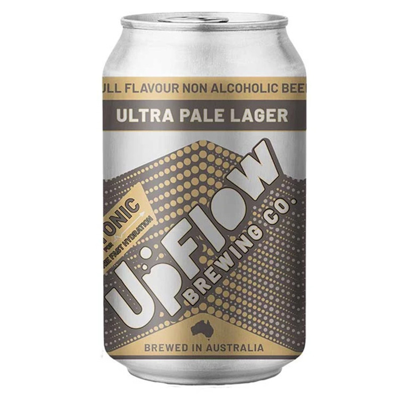Rat Dog Drinks - Upflow Brewing Co. Non Alcoholic Craft Beer. Ultra Pale Lager. Australian Made. Shop Online Australia.