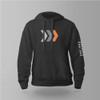 "Black ""Icon/Logo"" Pullover Hooded Sweatshirt"
