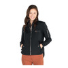 Ladies Black Polyester Quilted Flight Jacket