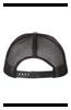 "Gray/Black ""Logo"" Adjustable Snapback Hat"