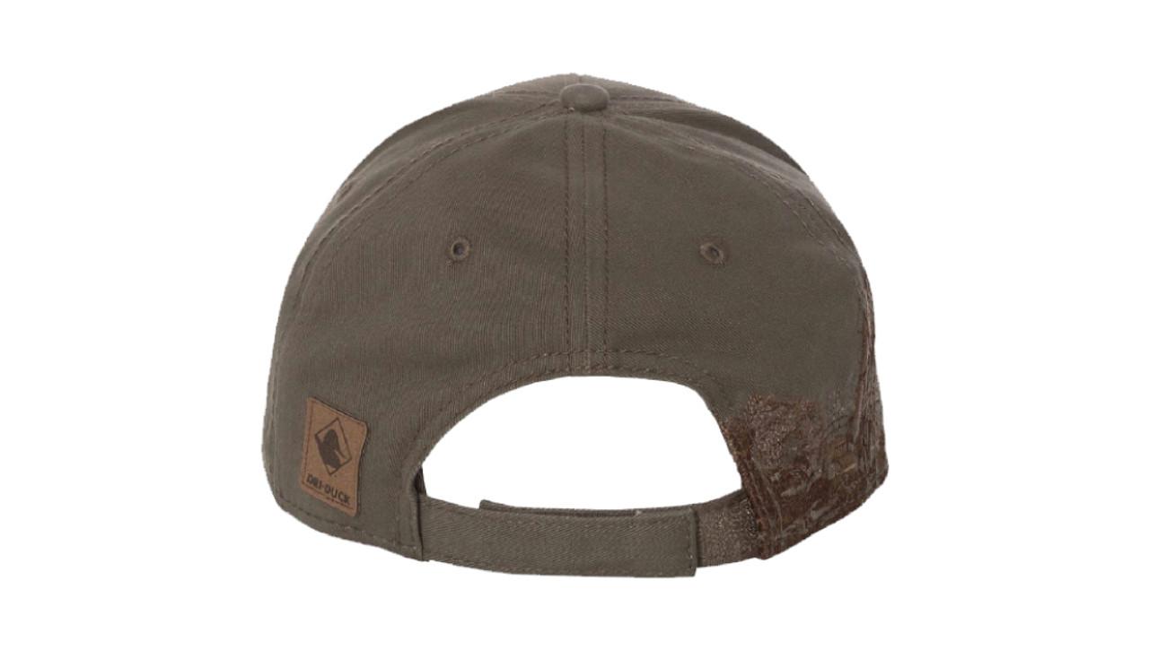 """Dark Brown """"Excavating"""" Brush Cotton Twill Hat"""