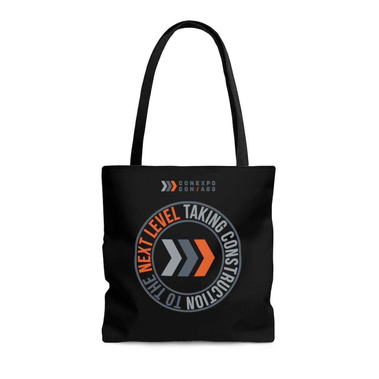 """""""CONEXPO-CON/AGG"""" Polyester Tote Bag"""