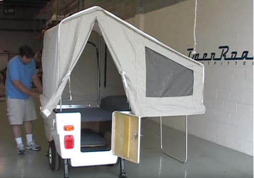 Mini Mate Motorcycle Camper Setup Video