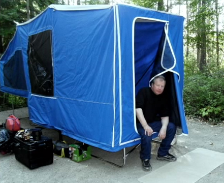 Time Out Motorcycle Camper Customer Interview