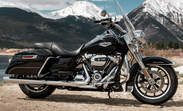 Harley-Davidson Road King (FLHR) Motorcycle Hitch Options