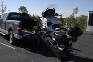 Rampage Lift Motorcycle Loader