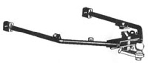 Gold Wing Hitch, 88-00, Hidden
