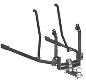 Gold Wing Hitch, 01-10, Hidden