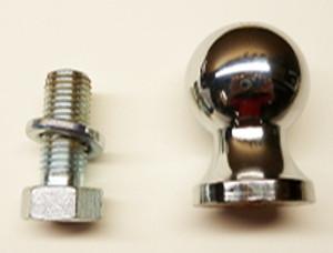 Chrome Tow Ball, 1 7/8 inchInternal Shank