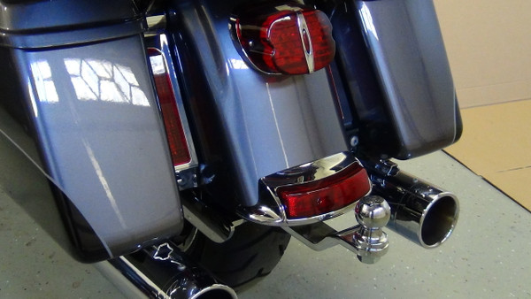 Road King Hitch, 2014+, Chrome