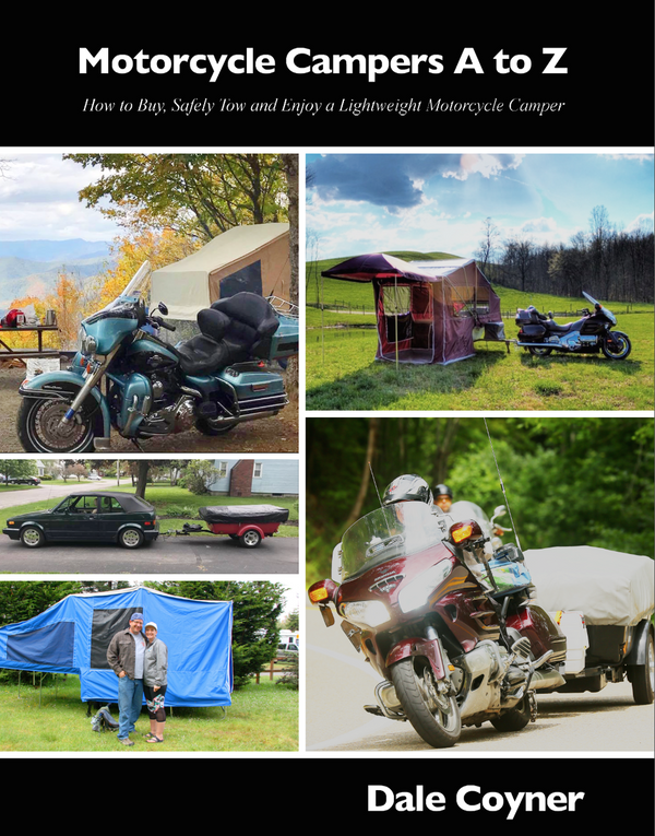 Motorcycle Campers A to Z - Free Shipping